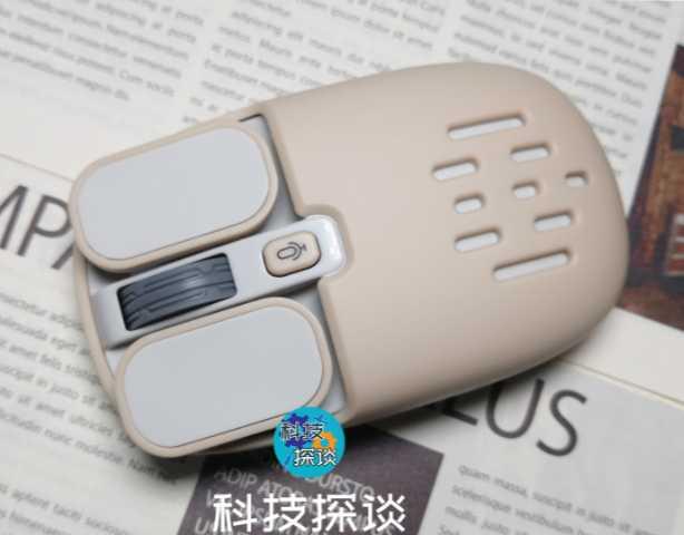 动动嘴就能打字,造型复古潮玩外设,咪鼠智能语音鼠标S5B体验